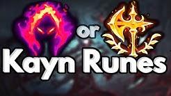 Kayn Runes  Season 10