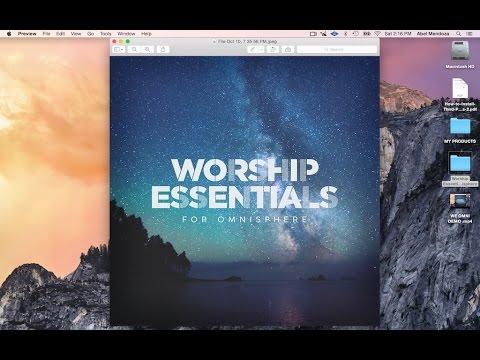 Worship Essentials For Omnisphere Walkthrough