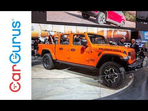 2020 Jeep Gladiator 2018 La Auto Show Youtube