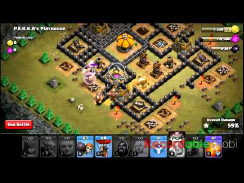 PEKKA'S Playhouse TH8 3 Star Strategy