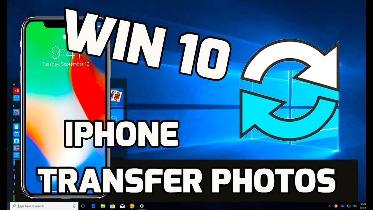 how to get a video from pc to iphone