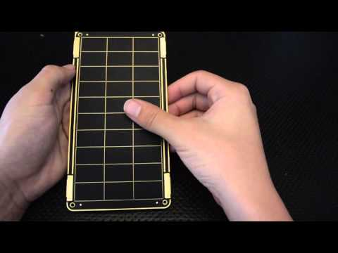 Solar Paper Demonstration and Unboxing