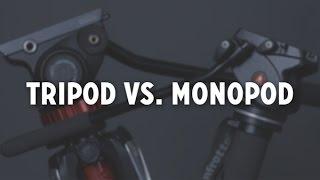 Tripod vs. Monopod (a.k.a. The Ultimate Manfrotto Showdown)