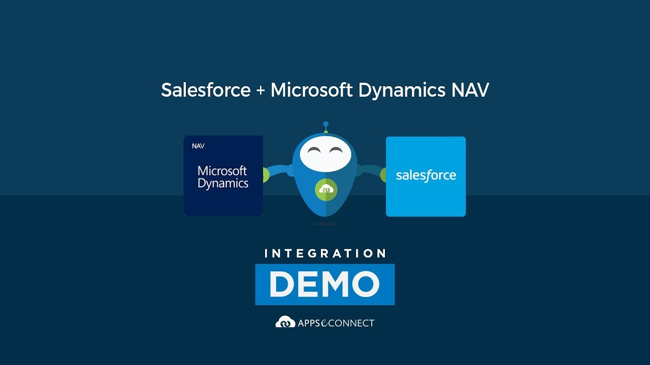 Connect Microsoft Dynamics NAV with Salesforce CRM