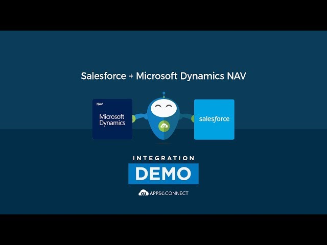 Integrate Salesforce CRM and Microsoft Dynamics NAV ERP | APPSeCONNECT