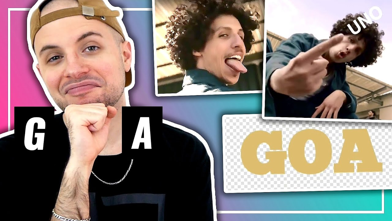 Rilès - GOA (Lyric Video) | PAS BESOIN DU CLIP OFFICIEL | 1ÈRE ÉCOUTE | REACTION (2020)