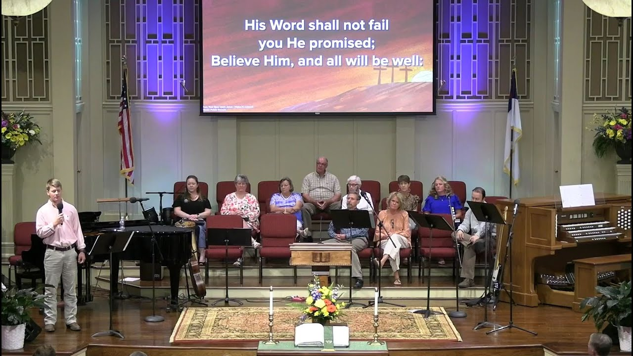August 1, 2021 Service [Trimmed] at First Baptist Thomson, Streaming License 201531172