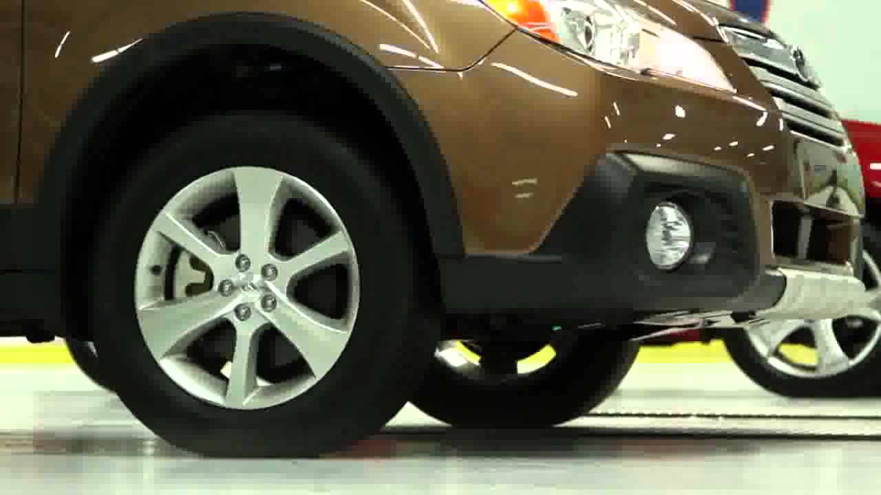 2013 Toyota Venza Vs 2013 Subaru Outback All Wheel Drive Traction Test |  Toyota On Front