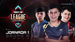 Free Fire League 2020 - Clausura | Grupo A | Jornada 1