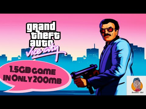 Only 200mb | GTA Vice City 2002 | HD Graphics | How to Download | 100% working