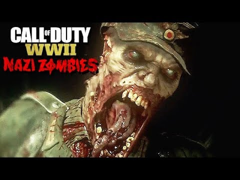 Call of Duty WW2 Nazi Zombies Mode Gameplay German #12 - Schweres Easter Egg