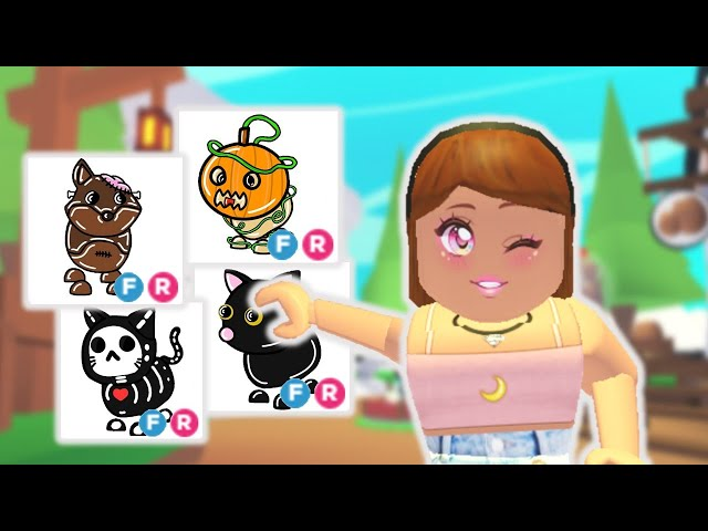 New 2020 Halloween Pets Coming In Adopt Me Roblox Youtube