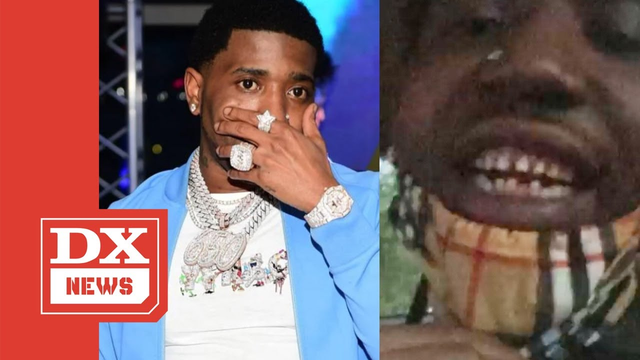 YFN Lucci Removes Diamond Grill, Revealing Real Teeth ...