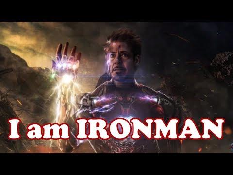 I AM IRON MAN ¦ Tony Stark Endgame