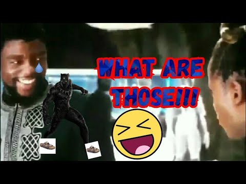 Black Panther- What are those!!! (T'challa & Shuri)