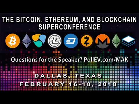 Algebraix CEO Charles Silver Keynote at The Bitcoin, Ethereum & Blockchain Superconference