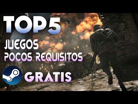 TOP 5 LOS MEJORES JUEGOS DE POCOS REQUISITOS GRATIS EN STEAM