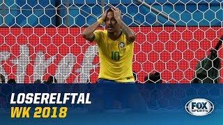 LOSERELFTAL   Meest tegenvallende spelers WK 2018