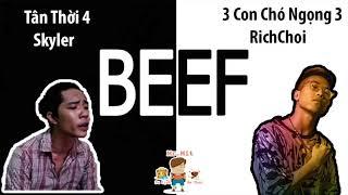 Beef Bắc Nam 2018 ,  Tận thời 4 - Skyler , ĐẤNG tại miền nam dizz RICHCHOY, MC ILL , Rhymastic