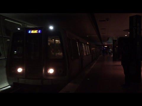 Washington Metrorail HD 60 FPS: 15 Minutes of Metro Center Action (Orange, Blue, & Silver Lines)