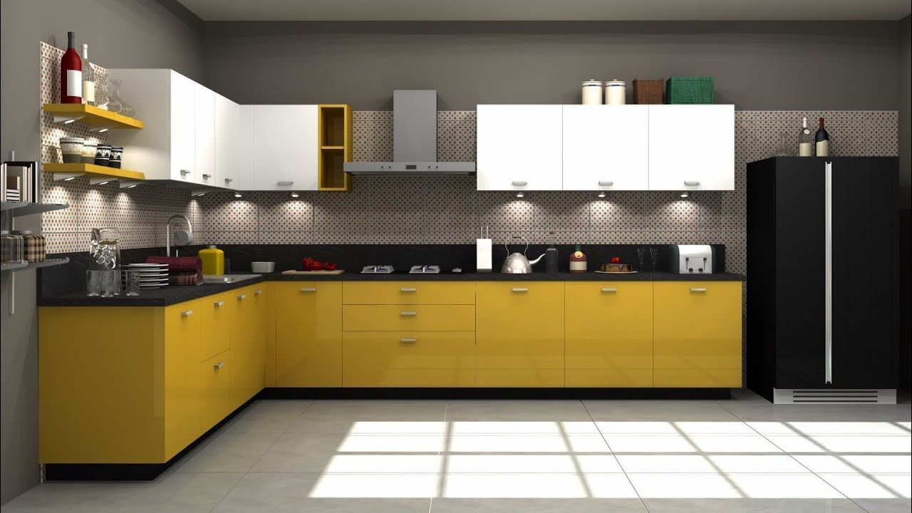 10+ L Shaped Modular Kitchen Designs for amazing kitchen interiors