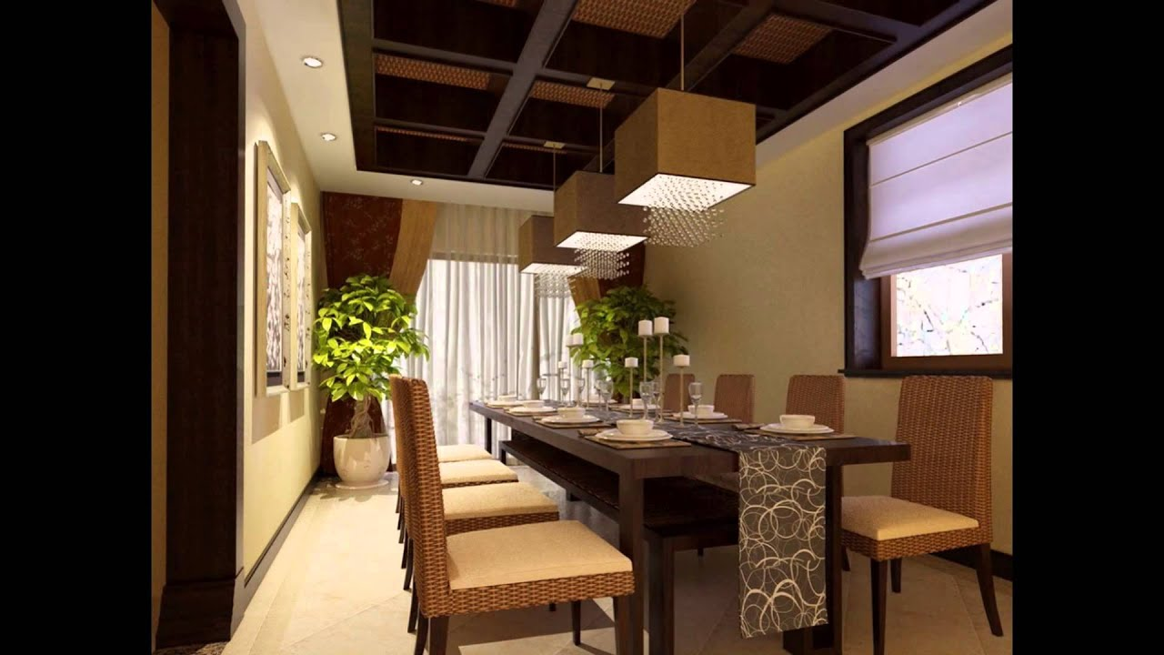 The Modern Dining Room Furniture And Design Ideas 2016 Youtube