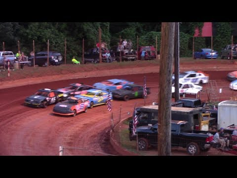 Winder Barrow Speedway Stock 4 Cylinders A's Feature Race 6/29/19