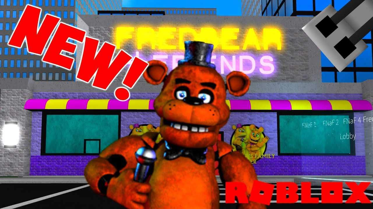 New Fnaf Roblox Game Roblox Fnaf Rp Youtube