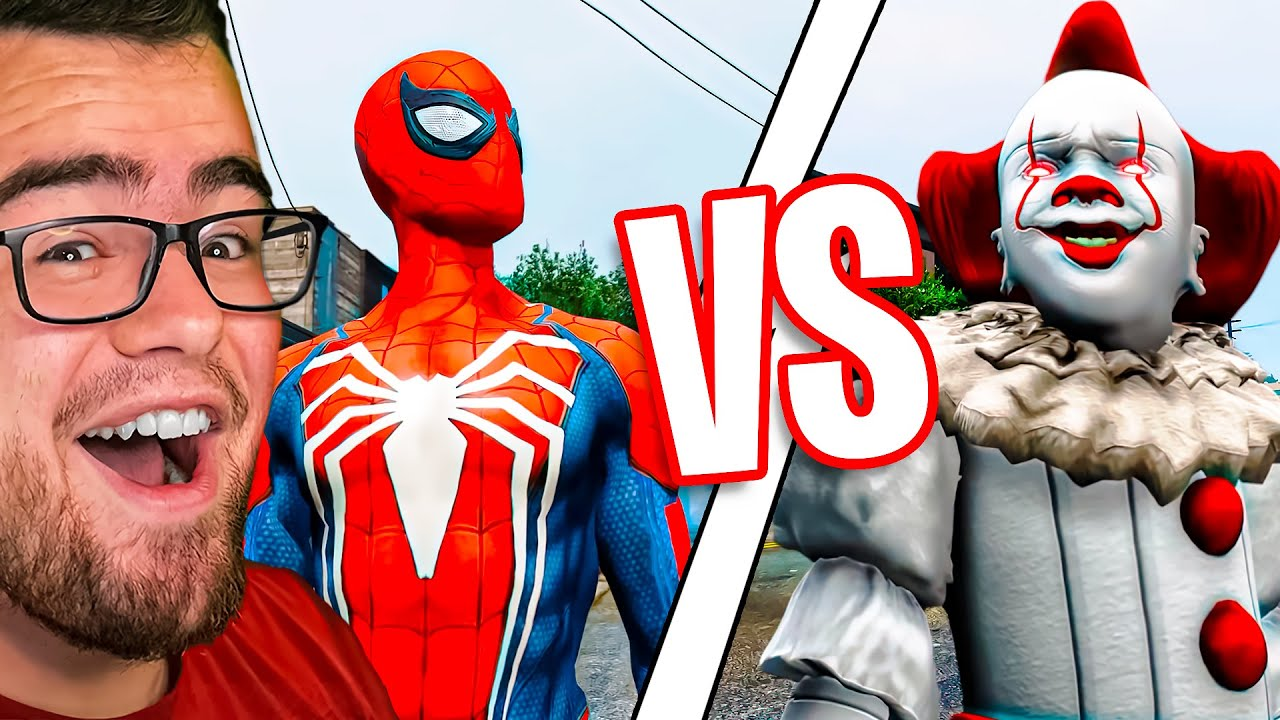 Reacting to PENNYWISE vs SPIDERMAN The FIGHT!!