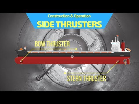 Learn Construction & Operation Of Bow Thrusters On Ships