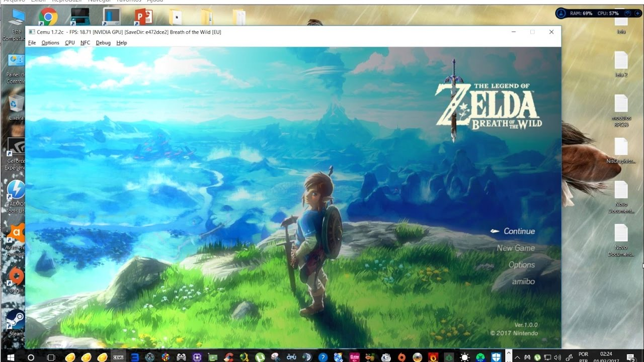 Wii U Emulator] Cemu - The Legend of Zelda: Breath of The Wild Test
