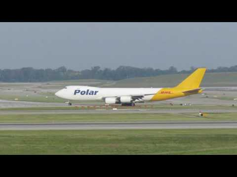 Cincinnati, OH (CVG) Boeing 747 Action! - June 17, 2017