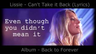 Watch Lissie Cant Take It Back video
