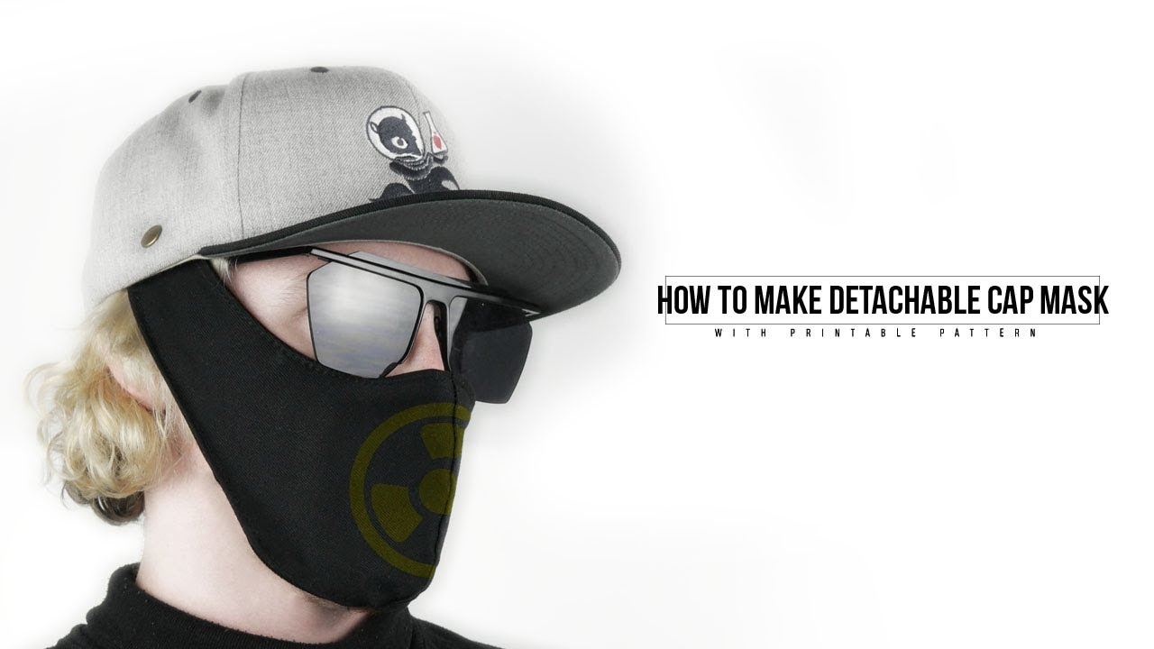 How to Make Rave Mask - YouTube
