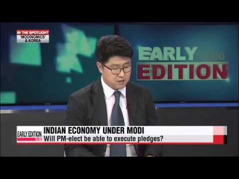 Narendra Modi discussed in korean media...Modinomics