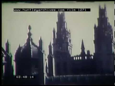 Sights Of Oxford, 1940s - Film 1271