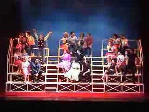 grease das musical we go together youtube