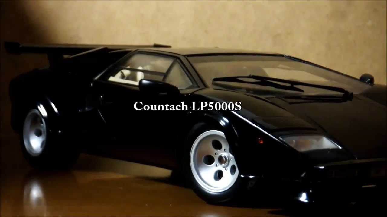 1 18 Kyosho Lamborghini Countach Lp5000s Detail Youtube