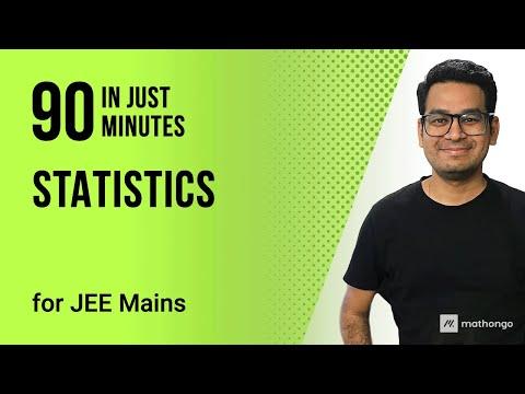 STATISTICS - DAY 38 - IIT JEE MAINS ONLINE CRASH COURSE