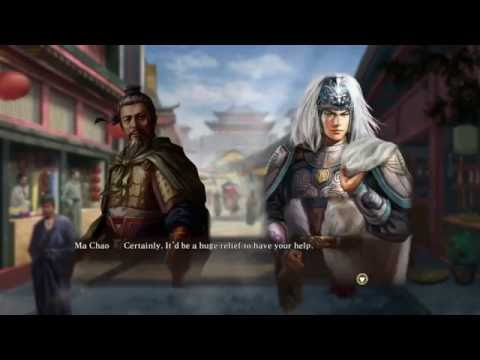 Romance of the Three Kingdoms XIII - (great combat) longplay 5 - Rise of the Four Kingdoms