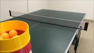 3D printed table tennis robot