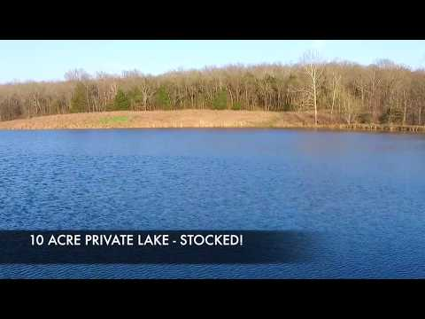 RANCH FOR SALE IN MISSOURI WITH RIVER FRONTAGE AND LAKE