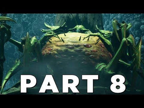 DARKSIDERS 3 Walkthrough Gameplay Part 8 - SLOTH BOSS (Darksiders III)