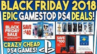 Epic Gamestop Ps4 Black Friday Deals Revealed! God Of War Is Super Cheap!