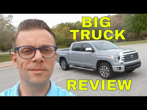Should You Buy This Truck? 2018 Toyota Tundra Limited Review & Feature Video Tutorial