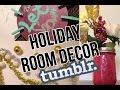 DIY TUMBLR Holiday Room Decor  Easy Dollar Store DIYS!♡