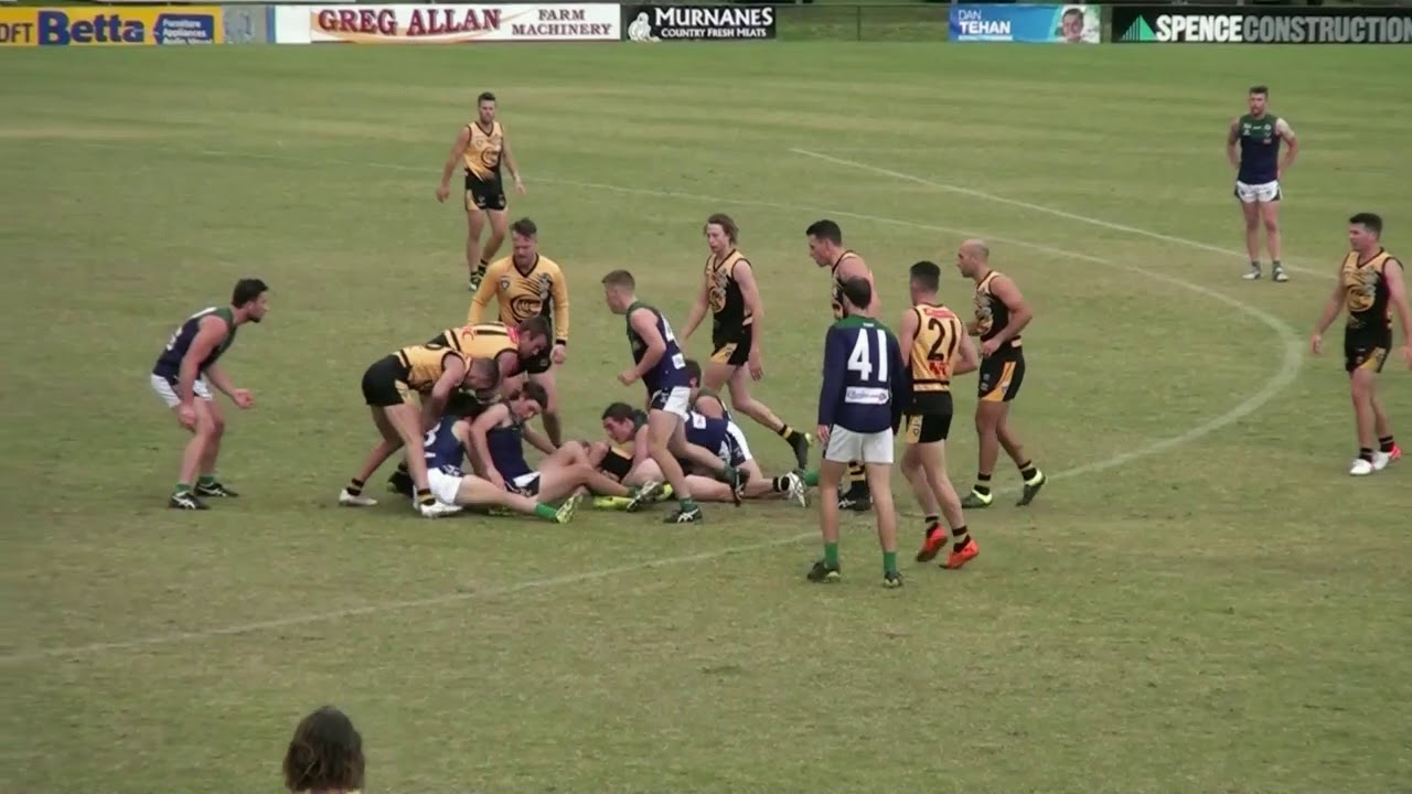Rd 4   Colac Behinds vs St Marys