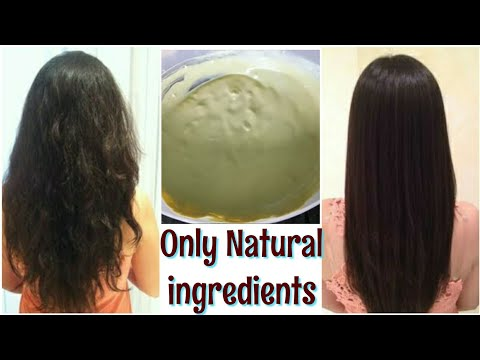 Permanent Hair Smoothening At Home | Only Natural Ingredients | TipsToTop By Shalini