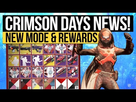 Destiny 2 News | CRIMSON DAYS REVEALED! Burning Shrine Returns, Eververse Engrams Removed & New Mode thumbnail