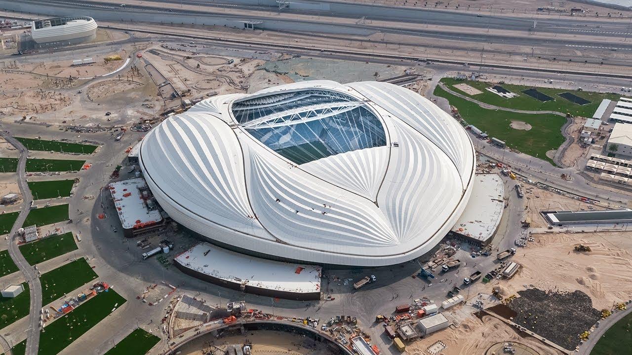 Al Wakrah Stadium Progress – April 2019 | Qatar 2022 تقدم استاد الوكرة – أبريل ٢٠١٩ | قطر ٢٠٢٢